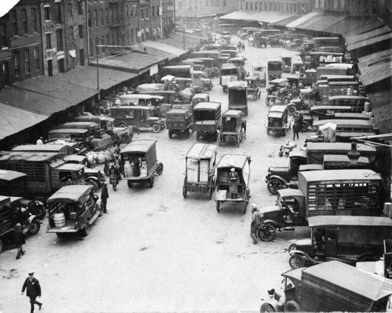 The Dock Street Market in 1928.