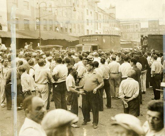 The Dock Street Market in 1937.