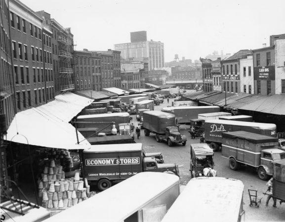 The Dock Street Market in 1951.