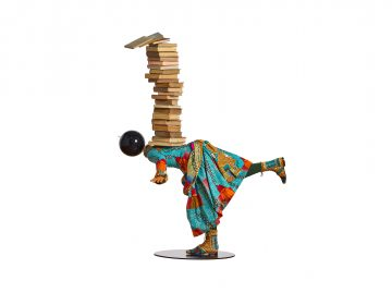 Girl Balancing Knowledge by Yinka Shonibare (Provided)