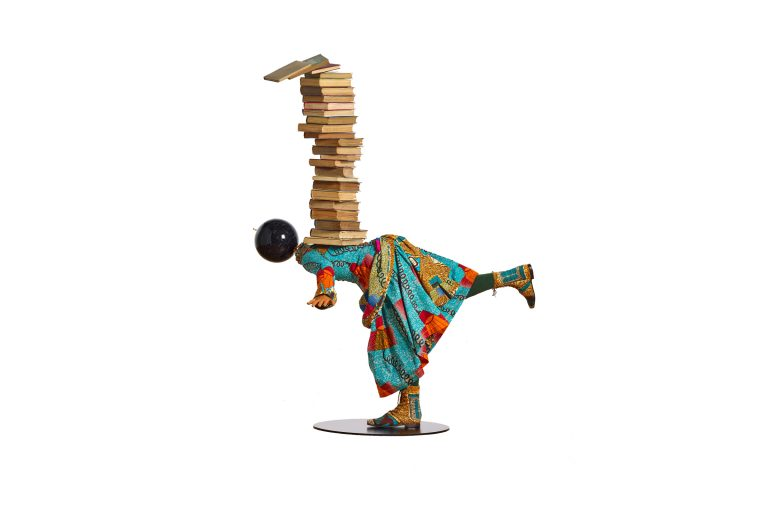 Girl Balancing Knowledge by Yinka Shonibare (Provided)