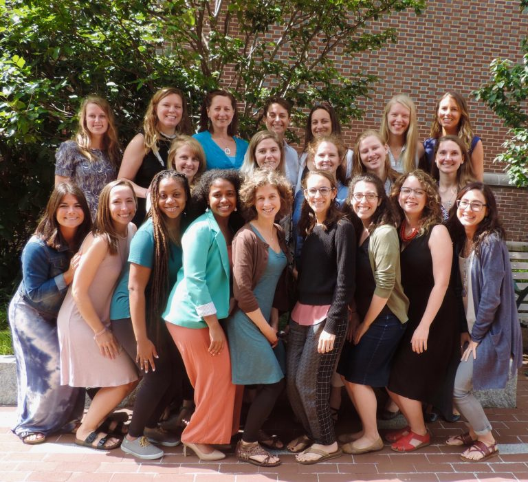 Members of the University of Pennsylvania's nurse-midwifery program's Class of 2017 are working to establish a scholarship fund for students of color. (Courtesy of Nicole Chaney)