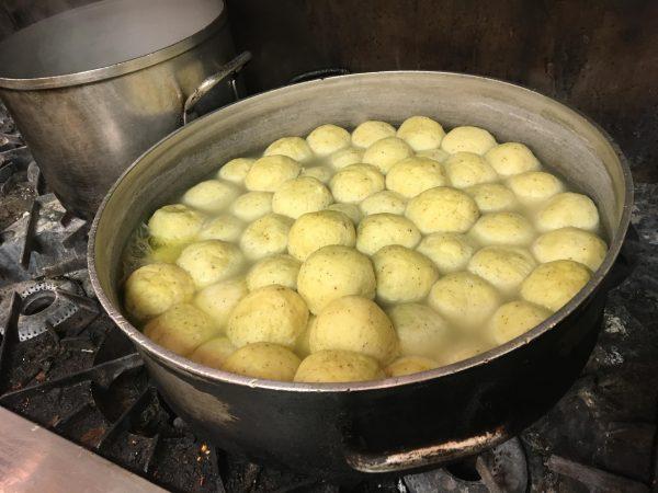 matzah balls (Danielle Fox/WHYY)