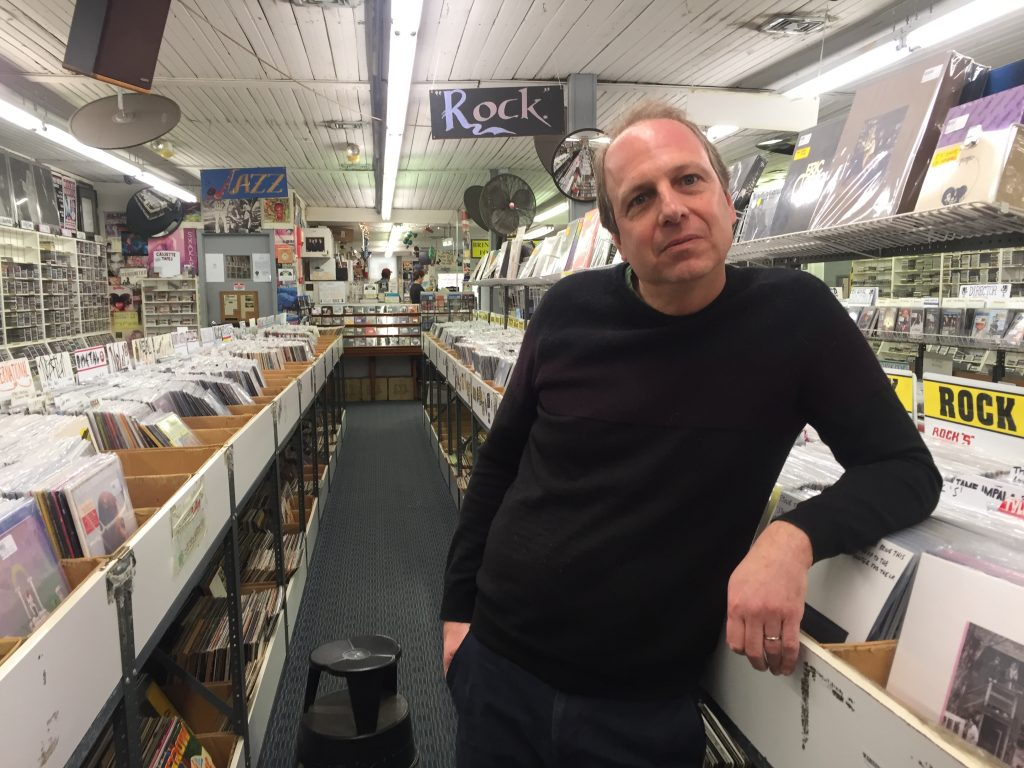 Jon Lambert is the owner of the Princeton Record Exchange, which is located behind Panera Bread. He said the Princeton Police told him to close or lock all the doors.