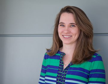 Jerusha Conner is an associate professor at Villanova University. (Kimberly Paynter/WHYY)