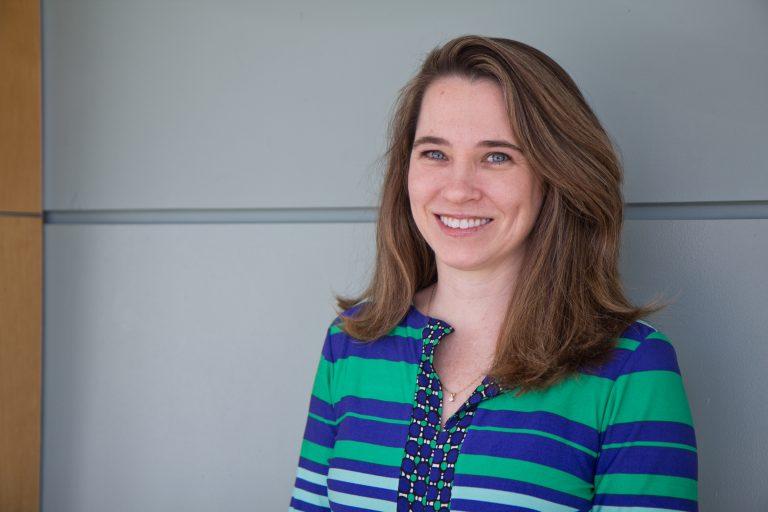 Jerusha Conner is an associate professor at VillanovaUniversity. (Kimberly Paynter/WHYY)