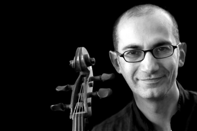 Kinan Abuo-afach, cellist and composer of