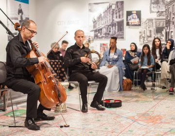 Syrian composer and cellist Kinan Abuo-afach,  of