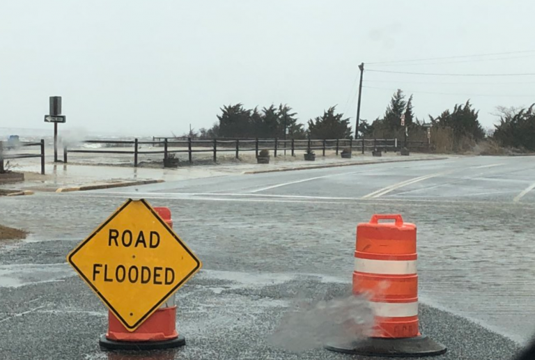 Nuisance tidal flooding in Seaside Park, N.J. (Dominick Solazzo)