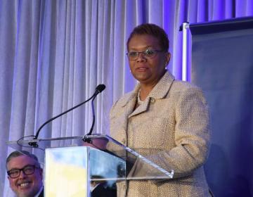 Della Clark is the president of The Enterprise Center. (Abdul Sulayman/The Philadelphia Tribune)