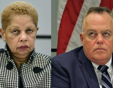 Joyce S. Wilkerson, (left), and Christopher McGinley, (right), are leaving the SRC (Bastiaan Slabbers  and Emma Lee/WHYY, file)
