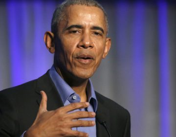 Former President Barack Obama has endorsed 81 Democratic candidates for public office across the country — including seven from Pennsylvania and New Jersey. (Charles Rex Arbogast/AP)