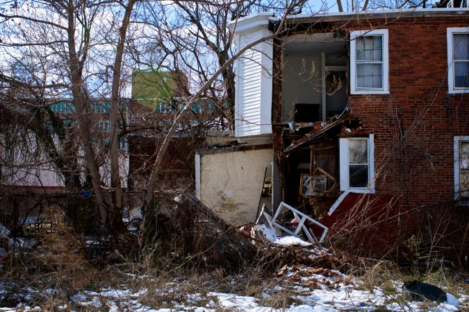 A Blighted Strawberry Mansion home