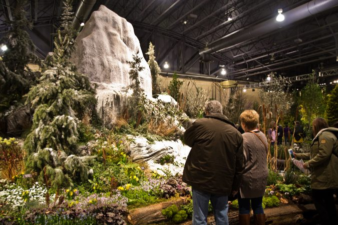 Hunter Hayes Landscape Design from Ardmore, Pa., created Spring Thaw. (Kimberly Paynter/WHYY)
