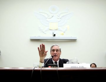 Then-FBI Director Robert Mueller testifies during a hearing before the House Judiciary Committee on June 13, 2013, on Capitol Hill