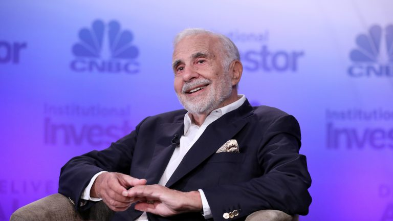 Carl Icahn quit his job as a special adviser to the president in August of last year, hours before an article about the conflicts of interest created by his advisory role published in The New Yorker. (CNBC/NBCU Photo Bank via Getty Images)