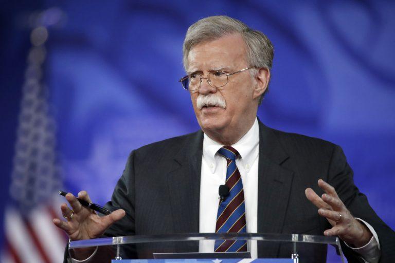 Former U.S. Ambassador to the U.N. John Bolton