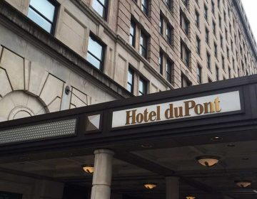 Exterior of the historic Hotel du Pont, which opened in 1913. (File)