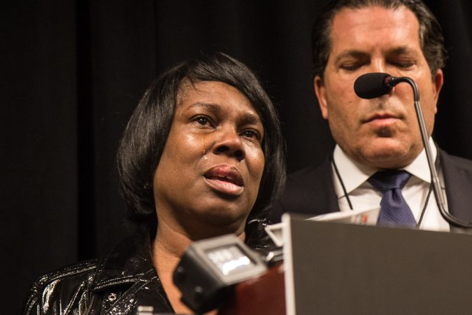 Meek Mill's mother Kathy Williams and his attorney Joe Tacopina