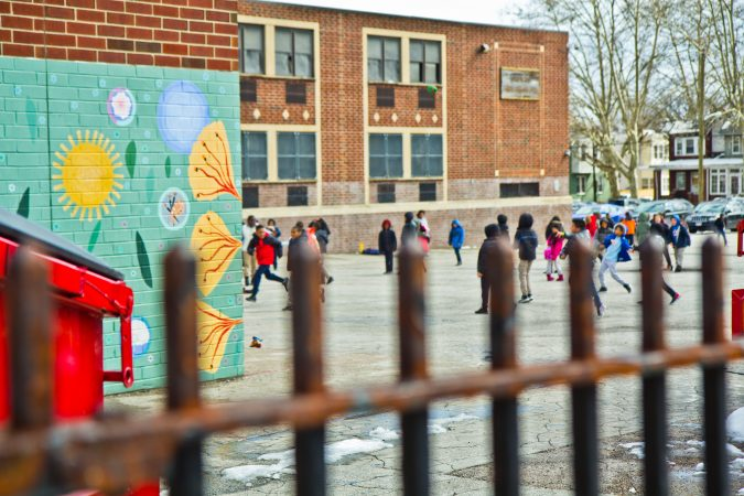 Over 36 languages are spoken at J.R. Lowell School in the Olney neighborhood of Philadelphia. (Kimberly Paynter/WHYY)