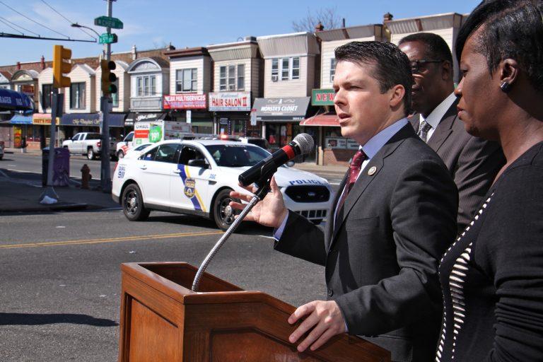 U.S Rep. Brandon Boyle in Olney