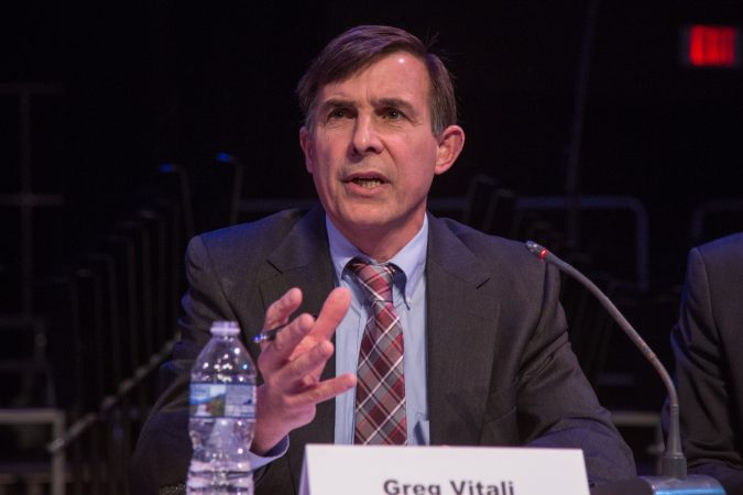 Greg Vitali has represented the 166th district in the Pennsylvania House of Representatives since 1993. (Emily Cohen for WHYY)
