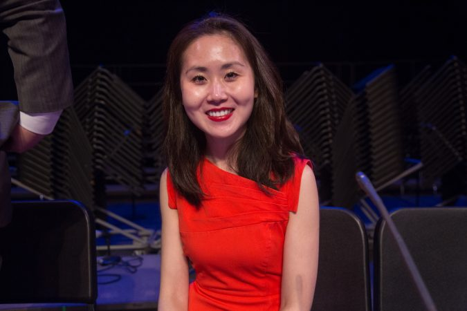 Lindy Li ran in the Democratic primaries for both the 6th and 7th congressional districts in 2016. (Emily Cohen for WHYY)