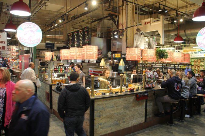 Becks Cajun Cafe at Reading Terminal Market. (Emma Lee/WHYY)