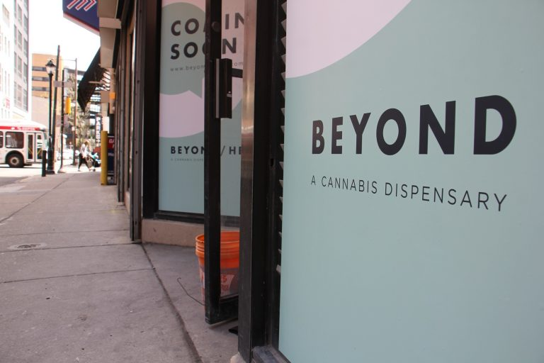 Center City's first cannabis dispensary will open at 12th and Sansom streets.