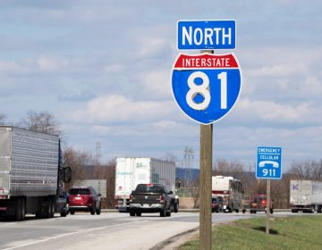 Route I-81 near Mechanicsburg, Pennsylvania (Jose F. Moreno/Philadelphia Inquirer)