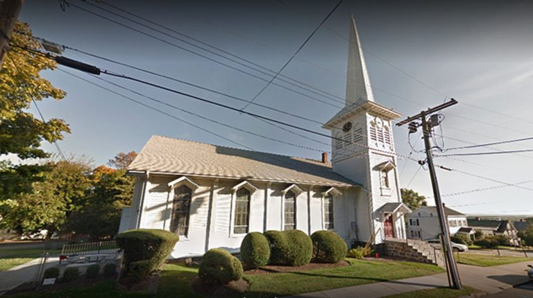 First Presbyterian Church Boonton was one of the defendants in the legal case that challenged Morris County's use of public funds for church renovations. (Google Street View image)