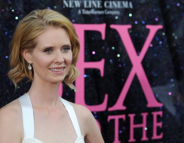 Actress Cynthia Nixon attends the premiere of