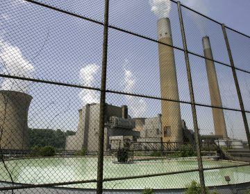 This May 22, 2007 file photo shows FirstEnergy's Bruce Mansfield plant in Shippingport, Pa., northwest of Pittsburgh. (Keith Srakocic/AP Photo, File)
