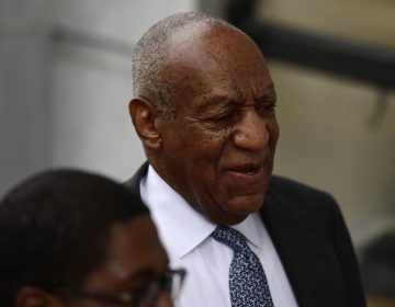 Bill Cosby arrives for his sexual assault trial at the Montgomery County Courthouse, Tuesday, April 3, 2018, in Norristown, Pa. (AP Photo/Corey Perrine)