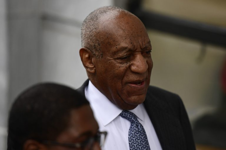 Bill Cosby arrives for his sexual assault trial at the Montgomery County Courthouse, Tuesday, April 3, 2018, in Norristown, Pa. (Corey Perrine/AP Photo)