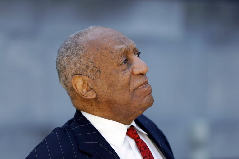 Bill Cosby departs after his sexual assault trial, Friday, April 20, 2018, at the Montgomery County Courthouse in Norristown.