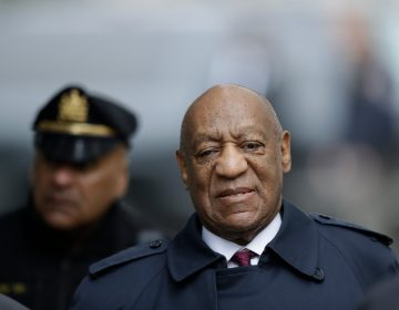 Bill Cosby arrives for his sexual assault trial, Wednesday, April 25, 2018, at the Montgomery County Courthouse in Norristown, Pa.