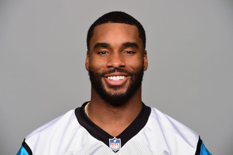 This is a 2017 photo of Daryl Worley, when he was a member of the Carolina Panthers (AP Photo)