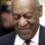 Bill Cosby arrives for his sexual assault trial, Thursday, April 19, 2018, at the Montgomery County Courthouse in Norristown. (Matt Slocum/AP Photo)