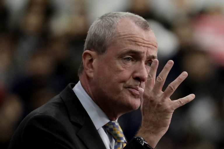 New Jersey Gov. Phil Murphy and legislative leaders held dueling news conferences after hours of meetings late Friday to announce their inability to come to a budget deal,. (Julio Cortez/AP Photo, file)