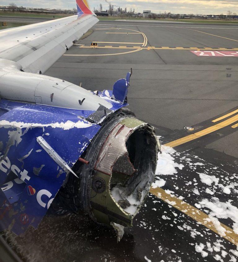 Southwest Airlines flight made an emergency landing in Philadelphia.