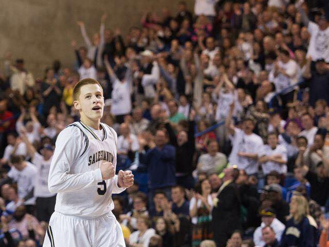 Donte DiVincenzo led Salesianum School to back-to-back state titles during his high school career at the Wilmington, Delaware, school. (Provided)