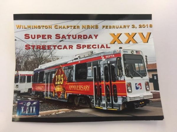 The 25th Super Saturday Streetcar Special ticket