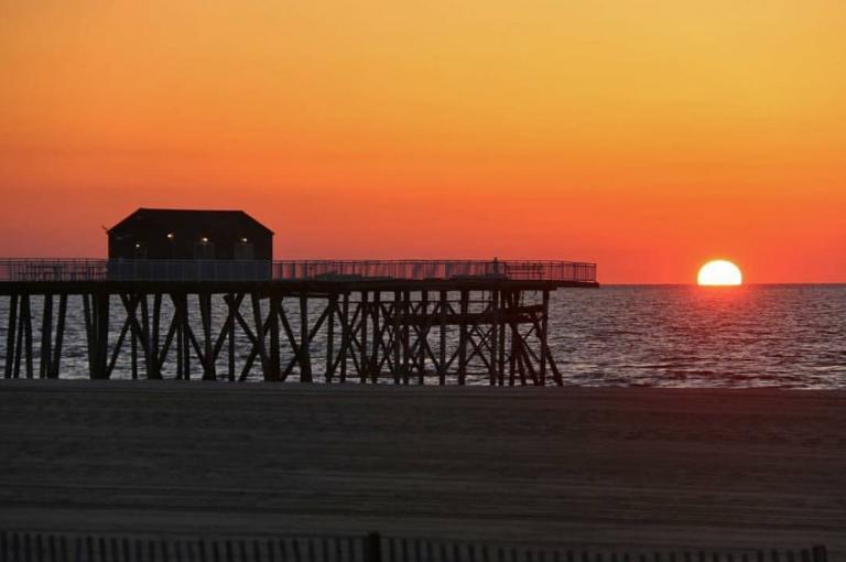 A recent Belmar sunrise by @belmaratsunrise as tagged #JSHN on Instagram.