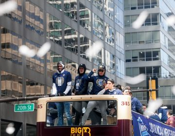 Villanova championship parade is under way