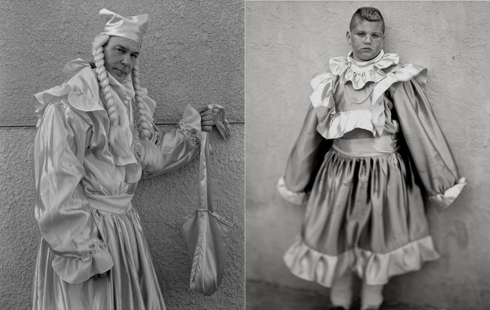 Photos of Mummers from the book
