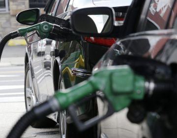 Gas is pumped into vehicles at a BP gas station in Hoboken, N.J. in 2016.The Obama administration moved to nearly double fuel-economy standards by 2025, but the EPA now is moving to weaken them.