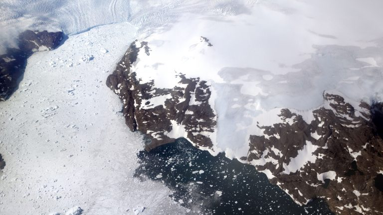 The Greenland ice sheet, the second largest body of ice in the world which covers roughly 80 percent of the country, has been melting and its glaciers retreating at an accelerated pace in recent years due to warmer temperatures. (David Goldman/AP)