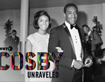 In this Sept. 12, 1965 file photo, actor-comedian Bill Cosby, right, and his wife Camille arrive at the TV Academy awards in the Hollywood section of Los Angeles. (AP Photo, File)
