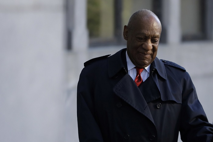 Bill Cosby arrives for his sexual assault trial, Thursday, April 26, 2018, at the Montgomery County Courthouse in Norristown, Pa. (Matt Slocum/AP Photo)